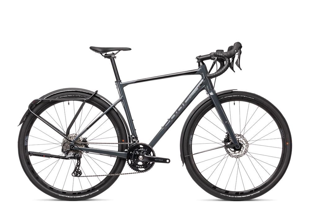 Cube Nuroad Race FE in Farbe grau mit schwarz