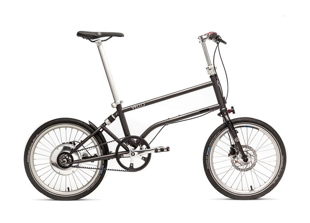 Vello Bike+ in Farbe anthrazit