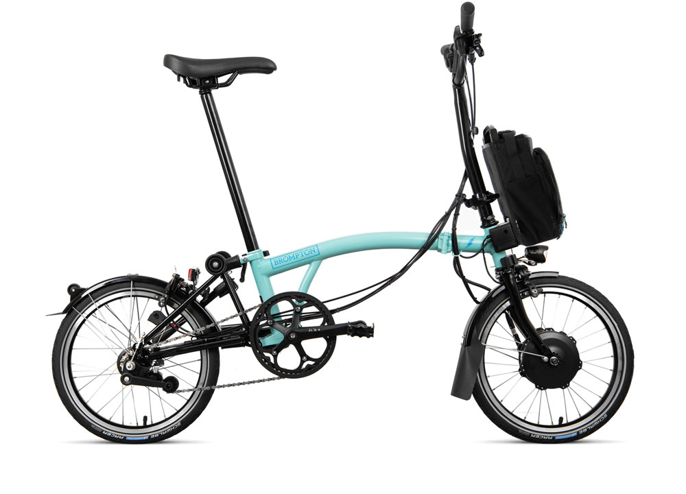 Brompton Electric H6L D in Farbe Türkis