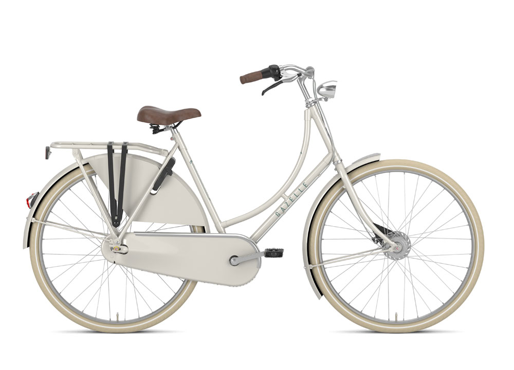 Gazelle Classic R7T in Farbe Ivory